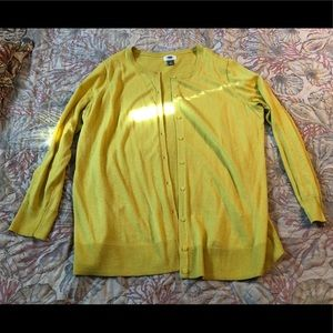Old navy citron cardigan
